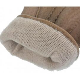 Herre skindhandske - Sandfarvet - Randers handsker