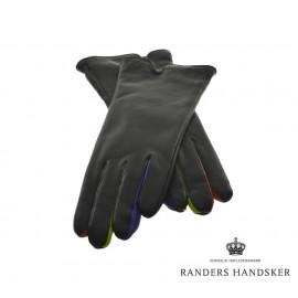 Randers handsker - dame - farvede fingre