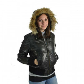 f59de48f skindjakke og dunjakke vinterjakker lækre kvaliteter lav pris