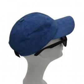 Smart lys blå ruskinds cap...
