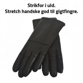 stretchhandske fra Randers handsker - uldfor