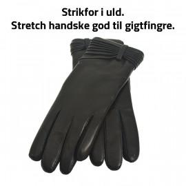 Stretch skindhandske - god til gigtfingre- Randers