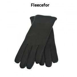 Randers handsker sort dame skindhandske