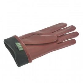 Dame skindhandske - Randers handsker - Bordeaux