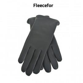Dame skindhandske med lunt fleecefor - Randers handsker