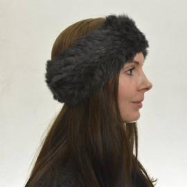Mørk grå pels pandebånd - Kanin - 30617