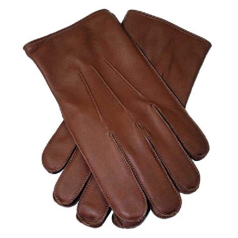 Cognac herrehandske - Randers handsker