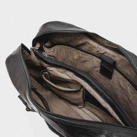 """Montana 15,6"""" pc taske i skind - 0622 Gratis fragt"""