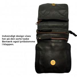 on tour large wide herretaske i skind praktisk herretaske rejsetaske med aft. rem. køb her