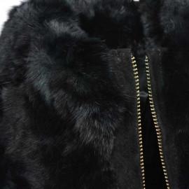 sixpence i ruskind. klassisk model sixpence i mørk brun ruskind super pris