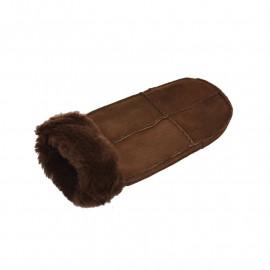 brun dame rulamsluffe - super pris