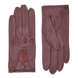Blommefarvet kørehandske Randers handsker