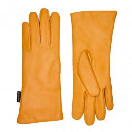 Gul - dame skindhandske - Randers handsker