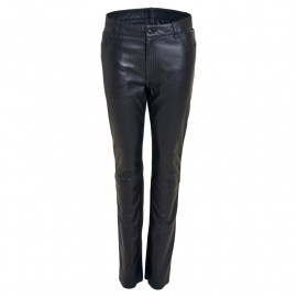 Skindbukser jeans pant- Rock and blue - Blød skind