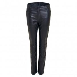 Skindbukser jeans model- Rock and blue - Blød skind