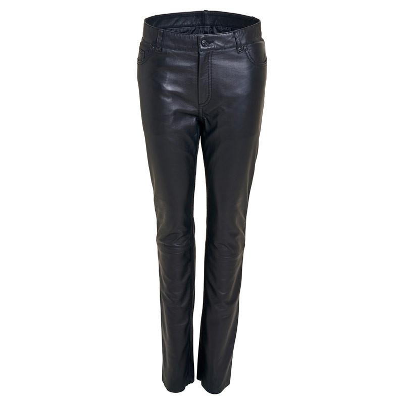 Skindbukser jeans pant- Rock and blue - Blød skind