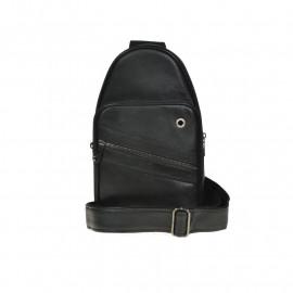 """brun 17"""" pc taske i ægte skind fra montana. pc taske mange gode rum. Super pris"""