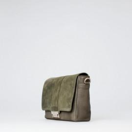 Grøn Treats taske - Skind / Ruskind - Alma - Tilbud
