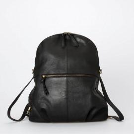 Sort rygsæk og skuldertaske - to i en - Hannah fra Treats