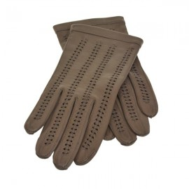 Skindhandske uden foer - Nutria - Randers handsker