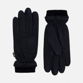 Sort skindhandske - Herre - Nubuck - Randers handsker
