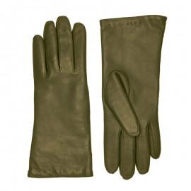 Randers handsker - Grøn dame skindhandske