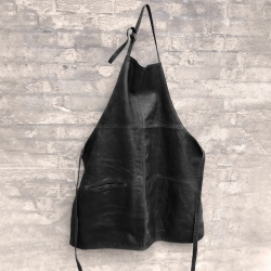 Savage læderforklæde - Brun - Bøffel - 272103